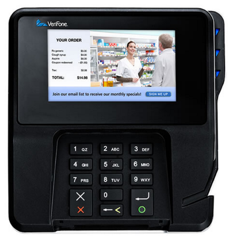Left Image Verifone Inc M177-409-01-R