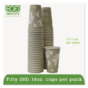 Renewable Resource Hot Drink Cup EPBHC16WAPK