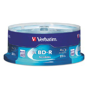 Blu-ray Recordable BD-R 6x Disc