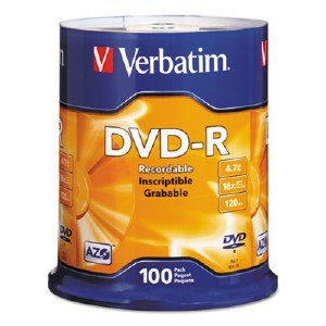 DVD-R 4.7GB 16x 100pk Spindle